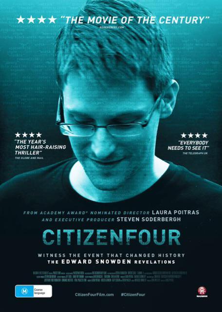 Documentary Film on CIA Whistleblower Edward Snowden